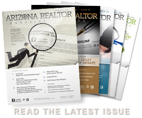Arizona REALTOR(R) Magazine