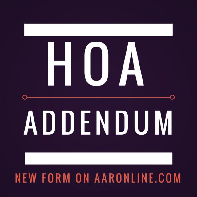 HOA Addendum