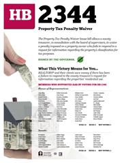2013 House Bill 2344 - AAR Summary