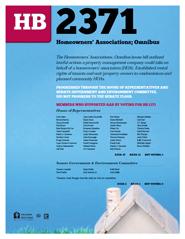 2013 House Bill 2371 - AAR Summary