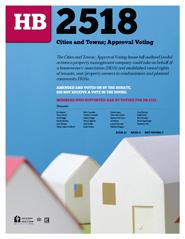 2013 House Bill 2518 - AAR Summary