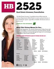 2013 House Bill 2525 - AAR Summary