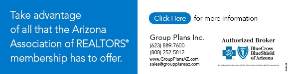 Take advantage of all that Arizona REALTORS® membership has to offer - Visit http://bit.ly/1M8Y6rL for more information.
