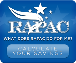 What does RAPAC do for me? Calculate your savings