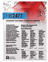 2014 House Bill 2477 - AAR Summary
