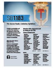 2014 Senate Bill 1183 - AAR Summary