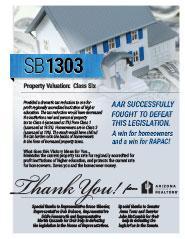 2014 Senate Bill 1303 - AAR Summary