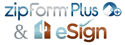 zipForm(R) and eSign