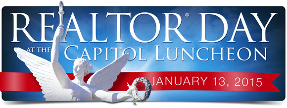 Register Today for the REALTOR(R) Day at the Capitol Luncheon on January 13, 2015