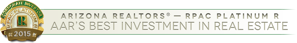Arizona REALTORS(R) - Corporate Investor - RPAC Platinum R - 2015