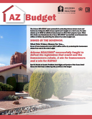 The Arizona State 2015-16 Budget Summary