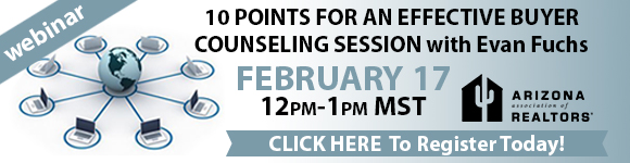 Webinar: 5 Points to Integrate into your Buyer Counseling Script - Feb. 17, 2016