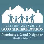 Good Neighbor Awards Deadline May 13