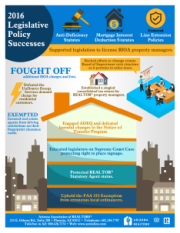 Thumbnail for AAR 2016 legislative successes infographic