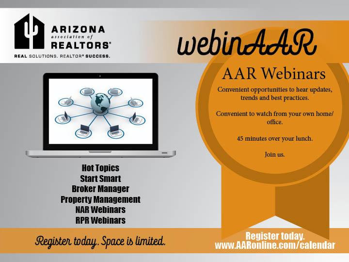 AAR Webinars