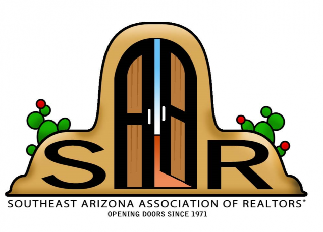 This image has an empty alt attribute; its file name is SAR_Southeast_Arizona_Association_of_REALTORS_Logo_Only_Known_File-640x460.png