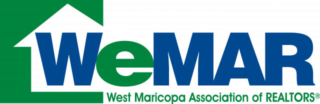 This image has an empty alt attribute; its file name is WeMAR_West_Maricopa_Association_of_REALTORS_Color_high-res-640x208.png