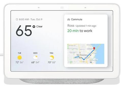 Google Nest Hubprovides help at a glance.
